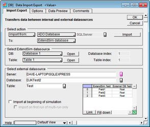 Data Import/Export for ADO Database