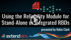 Using the Reliability Module for Stand-Alone or Integrated RBDs